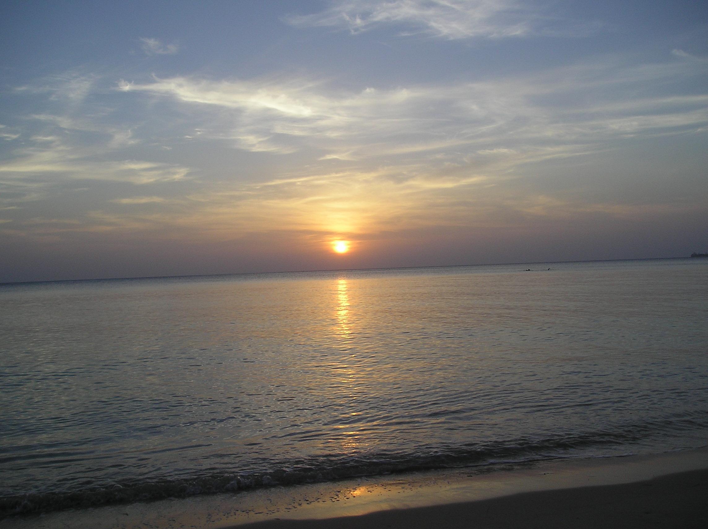 Sole al tramonto (Zanzibar febbraio 2014)